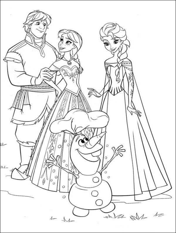Free Frozen Coloring Pages Disney Picture 29 550x727 Picture Met