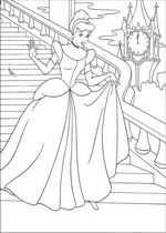 41 Kleurplaten Van Assepoester Met Afbeeldingen Prinses
