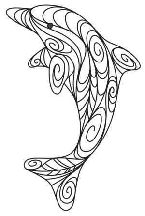 Dolfijn Mandala Met Afbeeldingen Kleurplaten Mandala