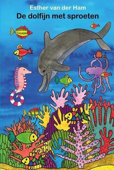De Dolfijn Met Sproeten Kleurwedstrijd Dolfijnen Prentenboeken