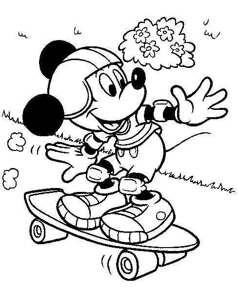 Kleurplaat Herfst Google Zoeken Disney Coloring Pages Mickey