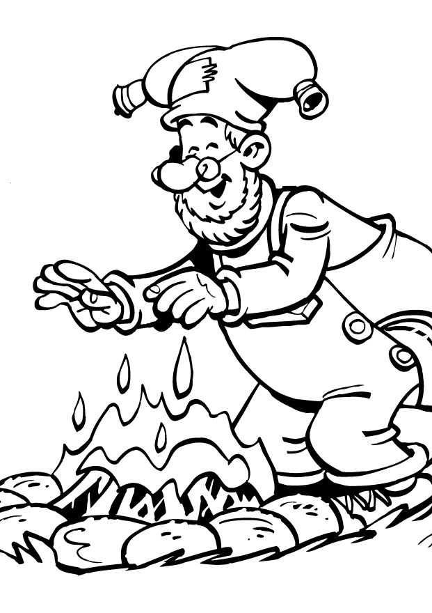 Plop The Gnome Kleurplaten Voor Kinderen Kleurplaat En Afdrukken