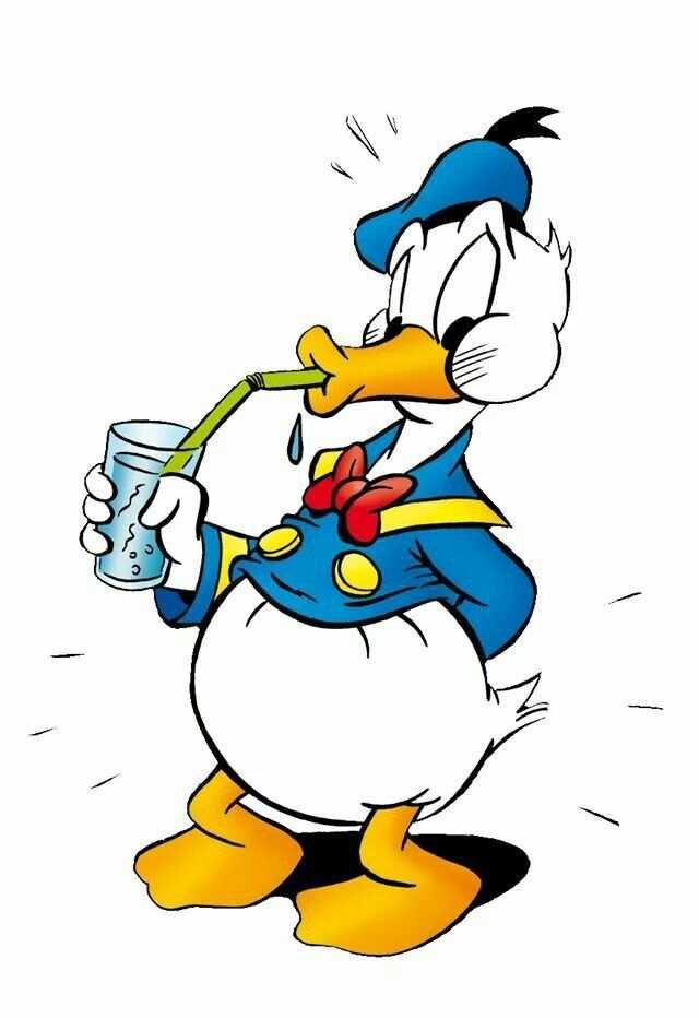 Donald Duck Met Afbeeldingen Stripfiguren Donald Duck Disney