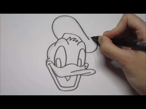 Donald Duck Leren Tekenen In Stappen Youtube