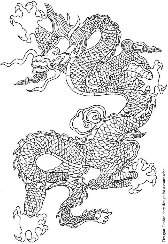 Creative Haven Chinese Designs Coloring Book Kleurplaten
