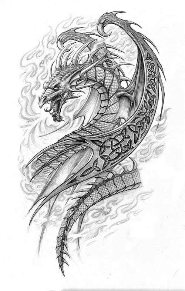 Dragon Fantasy Myth Mythical Mystical Legend Dragons Wings Sword
