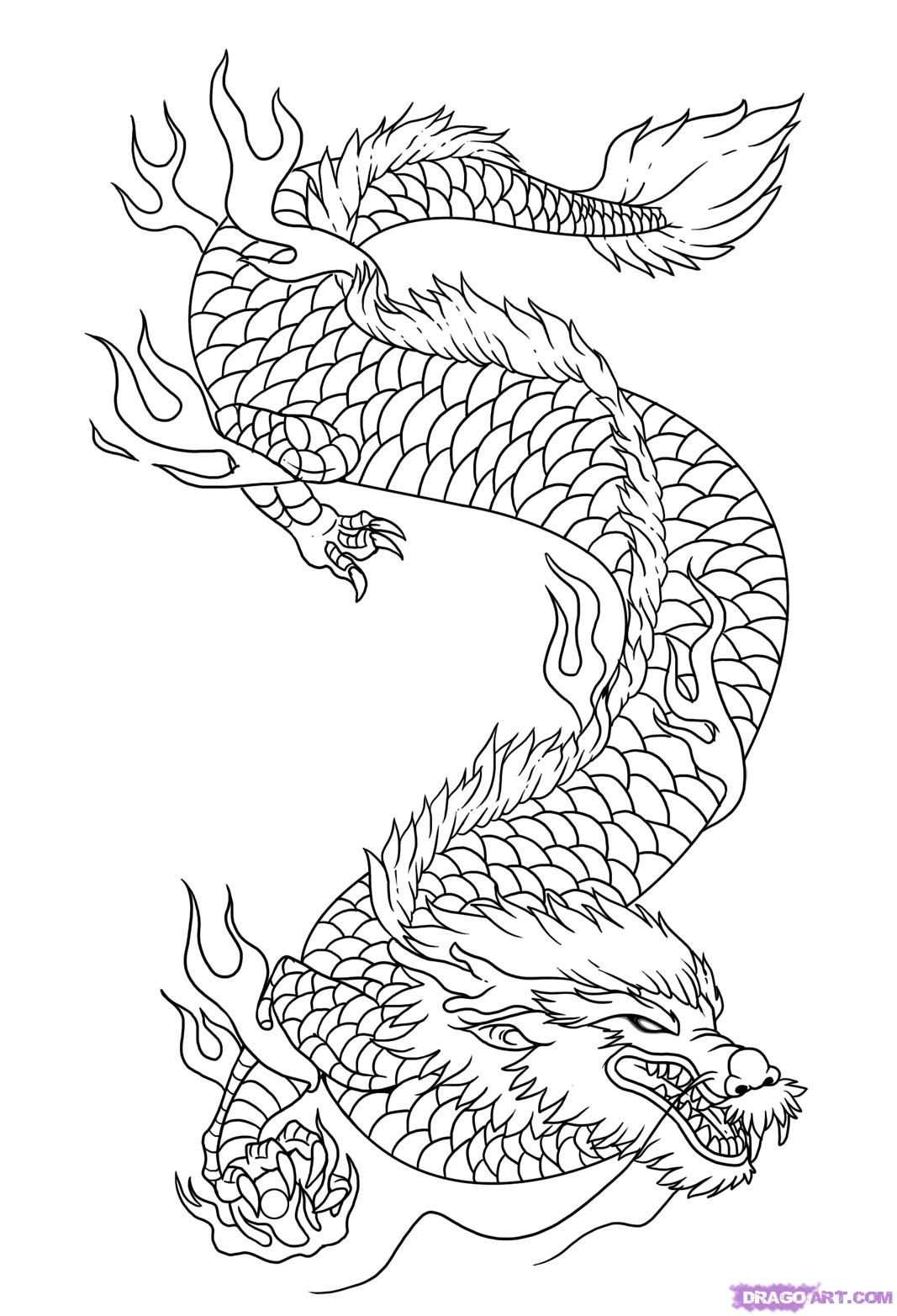 How To Draw Dragon Art By Dawn Met Afbeeldingen Kleurplaten