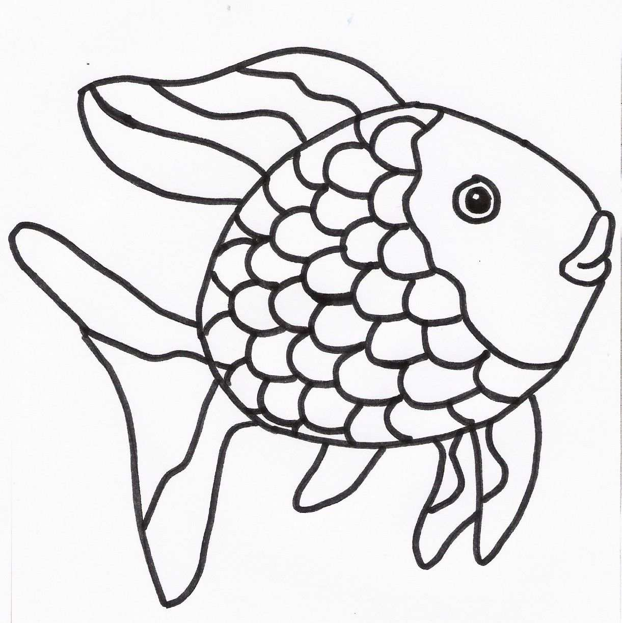 Glimvis Jpg 1221 1222 Kleurplaten Onderwater Thema Vis