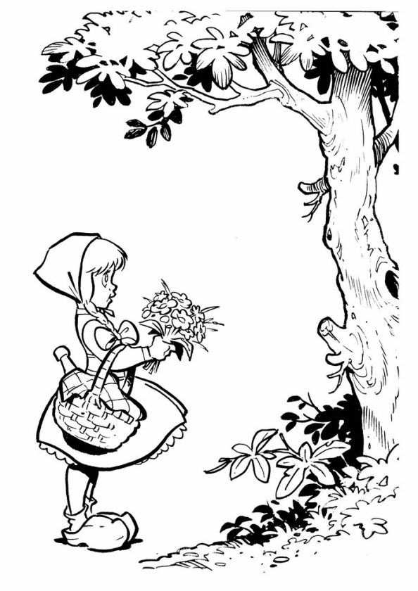 Coloring Page Efteling Efteling Met Afbeeldingen Sprookjesboom