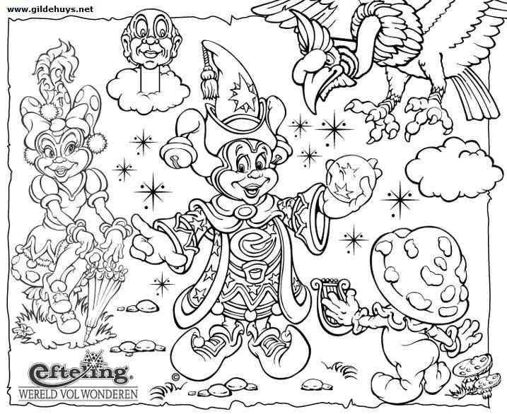 Pardoes De Tovernar Kleurplaten Kleuren En Disney
