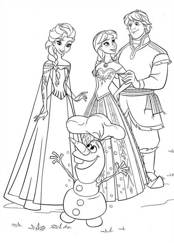 29 Best Frozen Coloring Pages For Kids Updated 2018 Con
