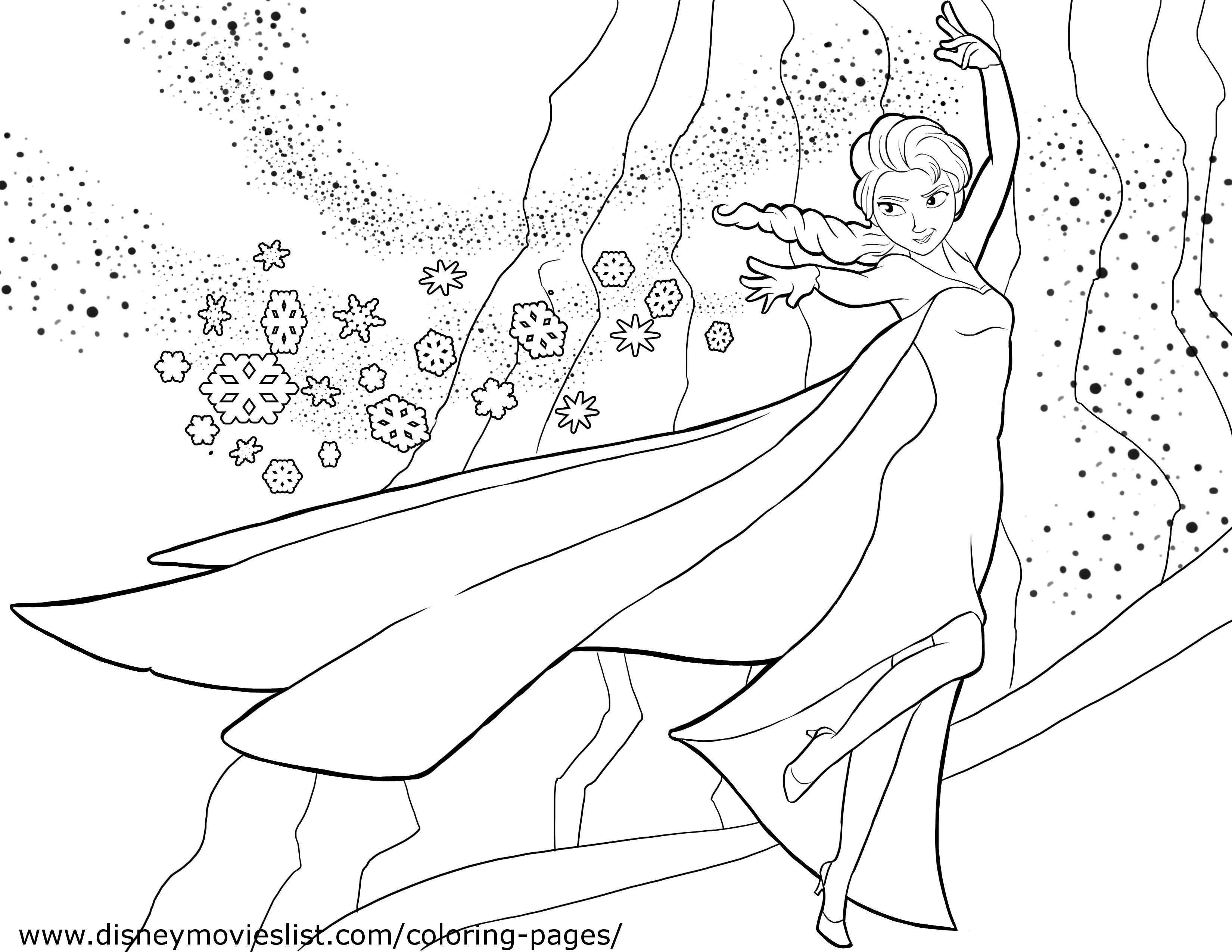 Disney S Frozen Coloring Pages Free Disney Printable Frozen Color