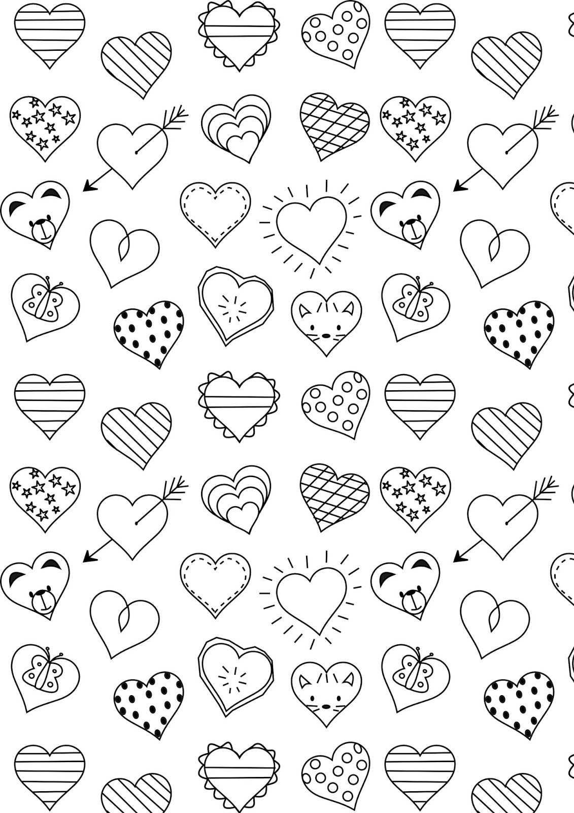 Hart Google Zoeken Valentijnen Hart Sjabloon En Harten Knutselen
