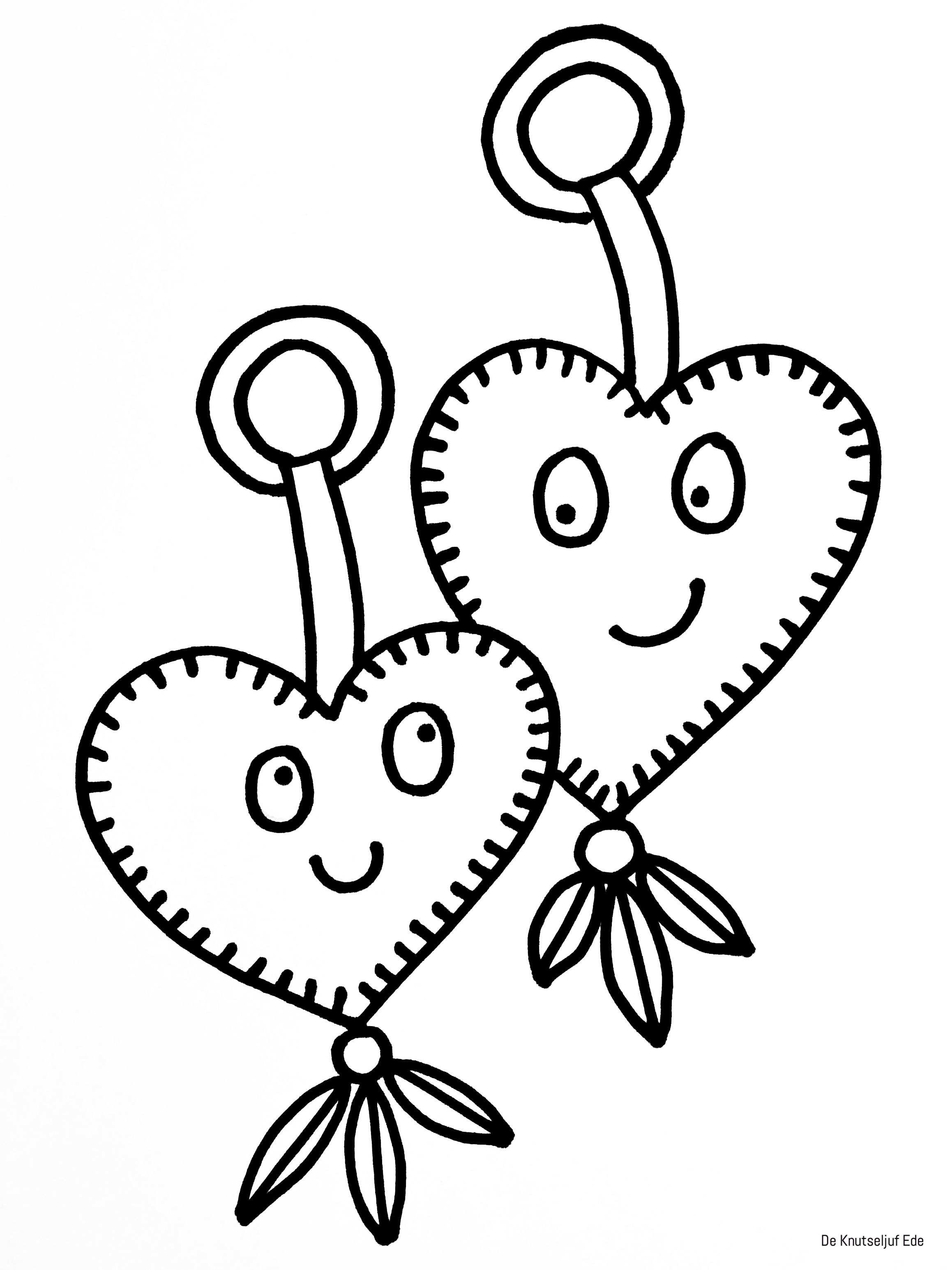 Kleurplaten Valentijnsdag Met Afbeeldingen Valentijnsdag