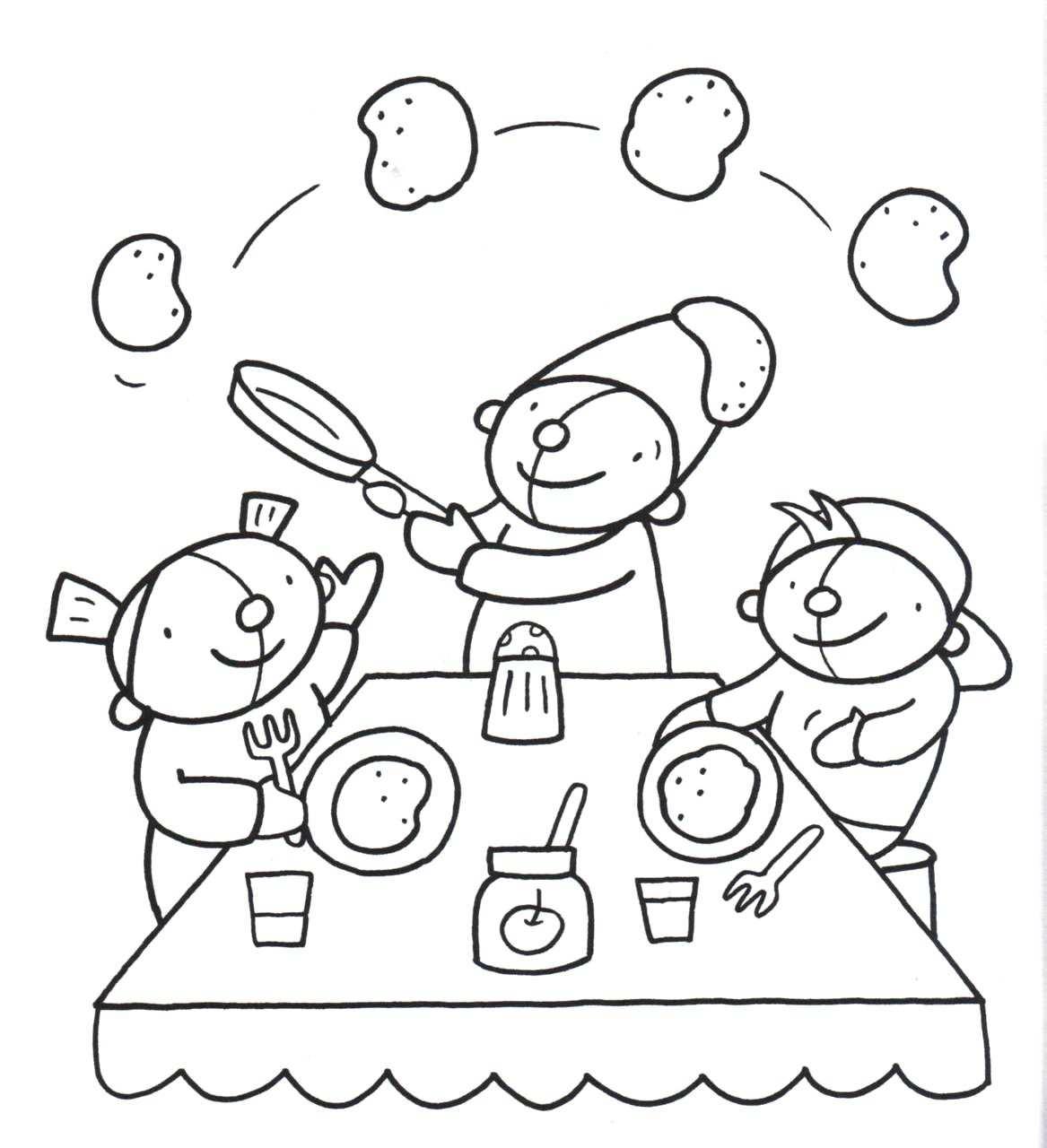 Kleurplaat Pompom Voeding Kleurplaten Thema Postzegels