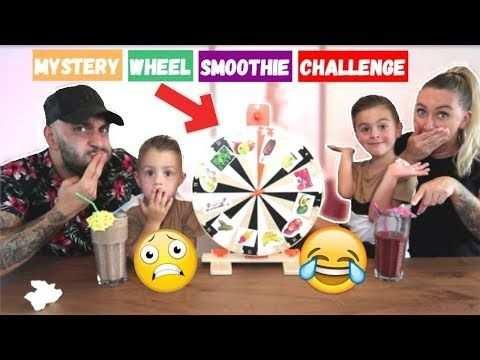 Mystery Wheel Bepaalt Onze Smoothie Lakap Junior Youtube