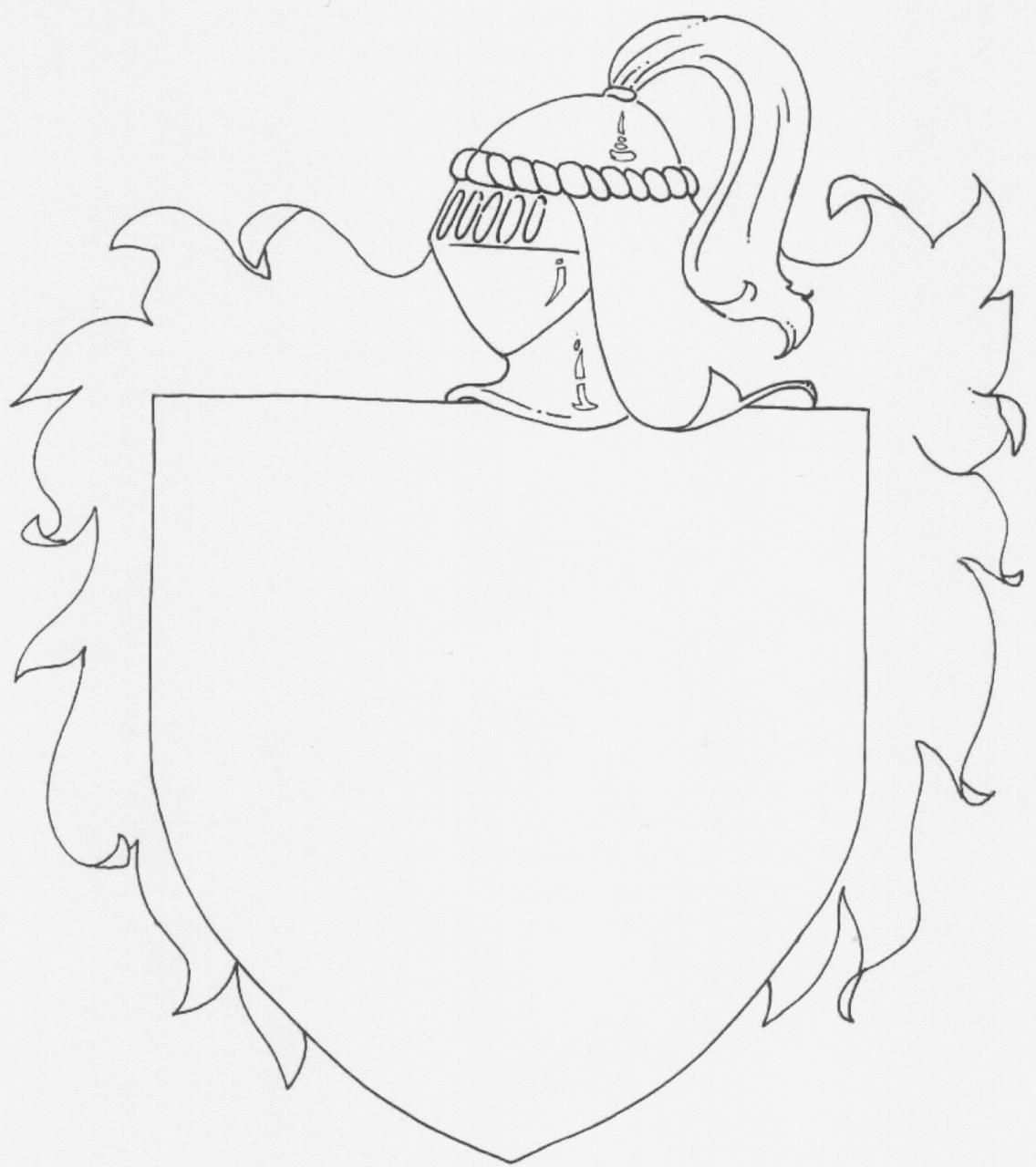 Maak Je Eigen Familiewapen Ridders Kastelen En Kleurplaten