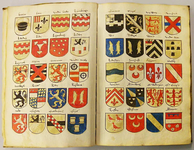 Familiewapens Kruistochten Vroege Middeleeuwen