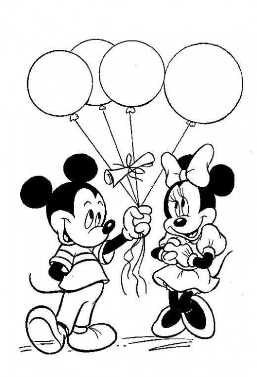 Disney Mickey Mouse Party Ideas And Free Printables Kleurplaten