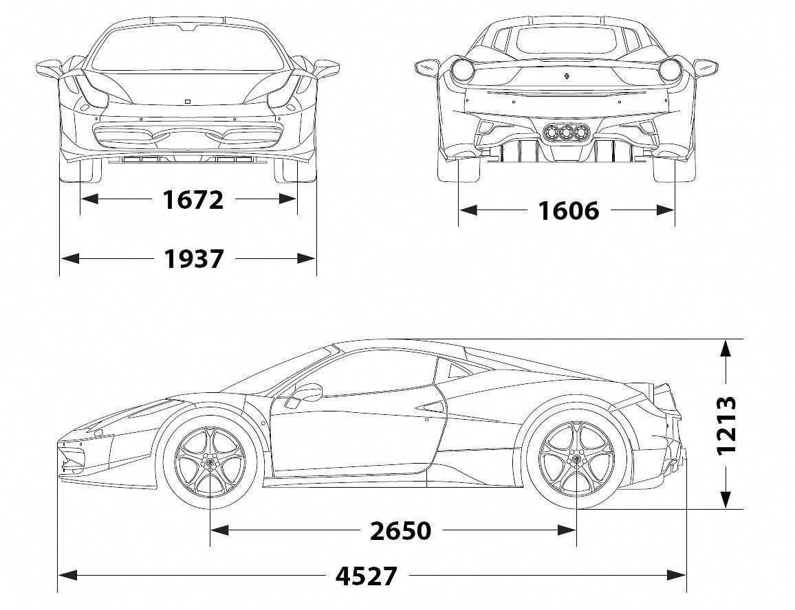 Ferrari 458 Italia 2010 Smcars Net Car Blueprints Forum