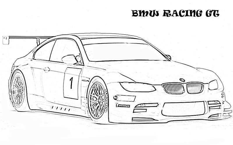 Bmw Gt Racing Ausmalbilder Ausmalbilder