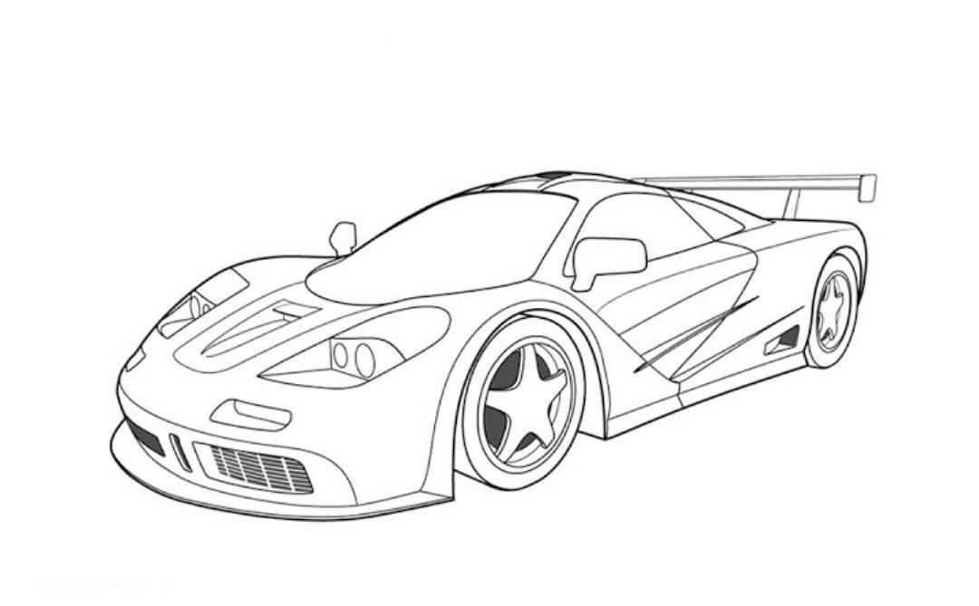 Gta 5 Cars Colouring Pages With Images Race Car Coloring Pages