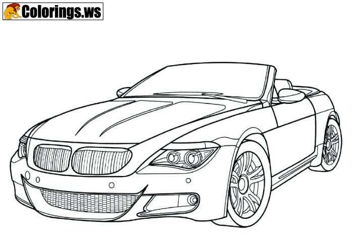 Bmw Car Coloring Pages For Boys Car Coloring Pages In Many