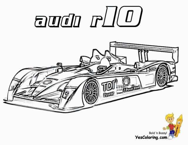 Free Printable Race Car Coloring Pages For Kids Omaľovanky Deti