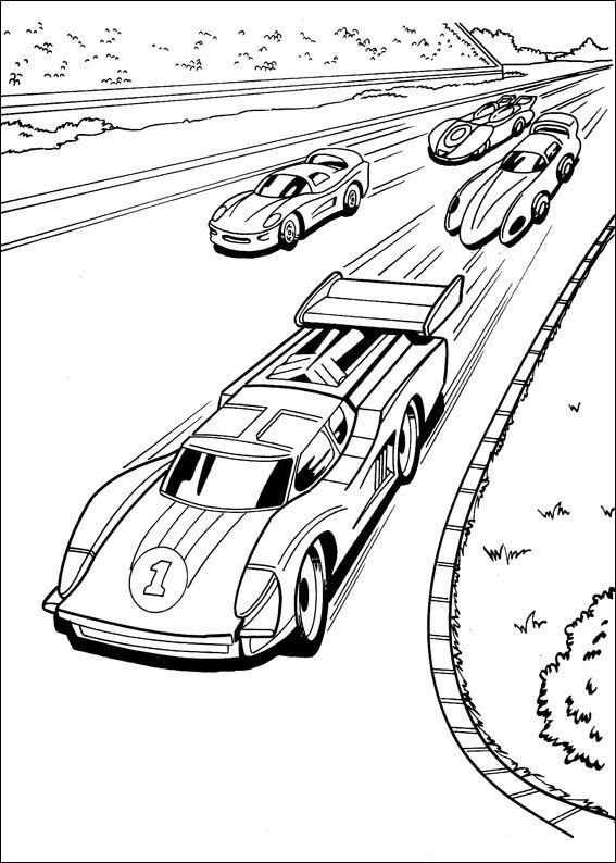 Kleurplaten Hot Wheels 5 Com Imagens Desenhos De Carros