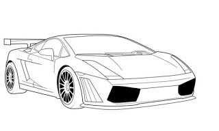 Lamborghini Drawings Auto Tekeningen Lamborghini Coole Auto S