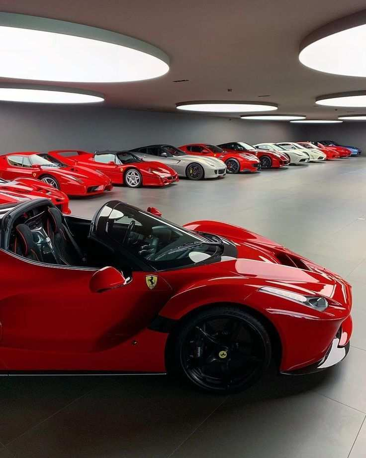 Can You Name All The Ferrari Models In This Dream Garage