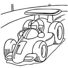Top 25 Race Car Coloring Pages For Your Little Ones With Images