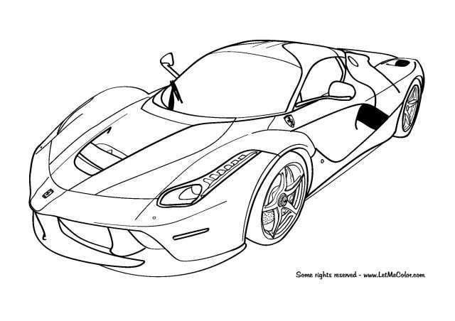25 Inspired Photo Of Coloring Pages Of Cars With Images Cars