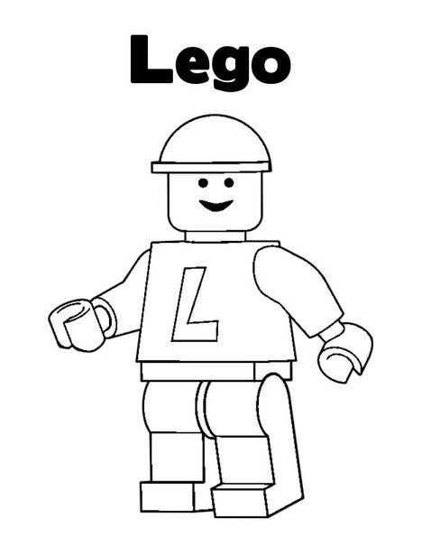 Lego 16 Lego Kleurplaten Kleurplaten Lego