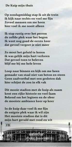 Feyenoord Rotterdam Teksten En Voetbal