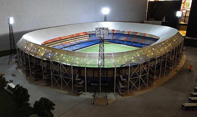 Weekverslag Week 42 2014 Opening Miniatuur Kuip Stadion Feyenoord