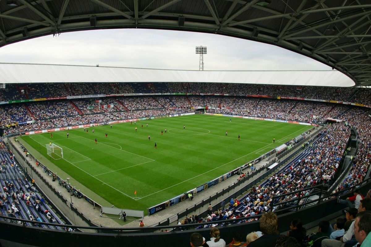 Feyenoord De Kuip Nl 2008 Voetbalstadions Rotterdam Voetbal