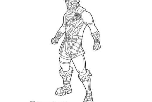 Molten Battle Hound Hound Coloring Pages Fan Art