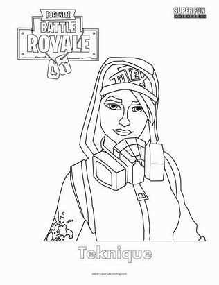 Image Result For Fortnite Skin Coloring Pages Grownup Coloring