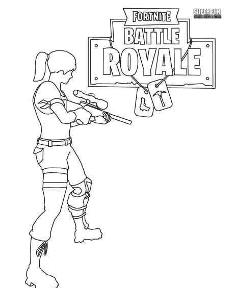 Fortnite Battle Royale Coloring Page Cumpleanos Del Zombie