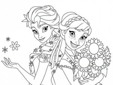 Kleurplaten Frozen 2 With Images Dzieci Kraina Lodu