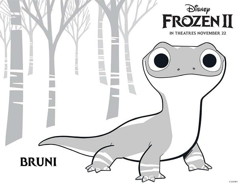 Free Printable Frozen 2 Coloring Pages And Activities Frozen