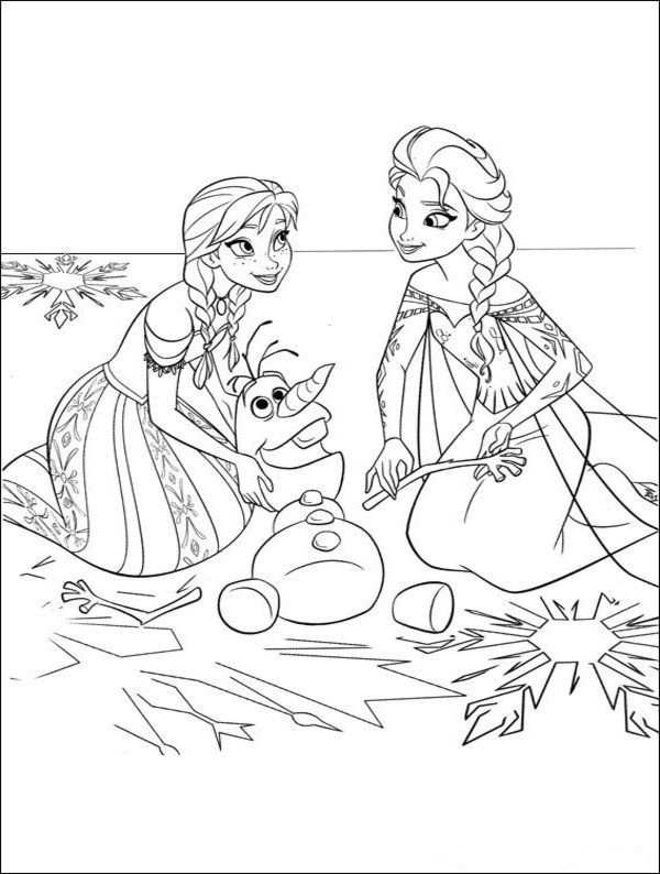 Free Frozen Coloring Pages Disney Picture 25 Jpg 600 794