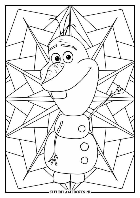 Olaf Frozen Kleurplaat In 2020 Kleurplaten Frozen Kleurplaten Olaf