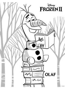 Frozens Olaf Coloring Pages With Images Frozen Coloring Pages
