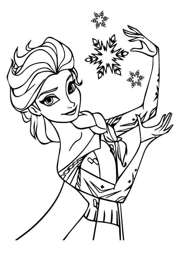 Coloring Page Frozen Kleurplaten Kleurplaten Disney Tekenen