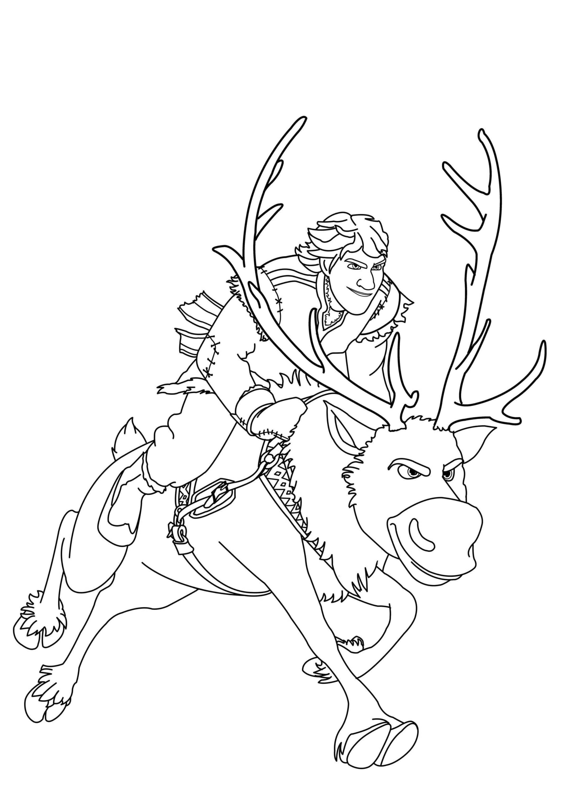 Baby Coloring Disney Frozen Pages Sven 2020 Check More At