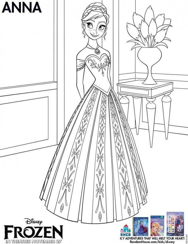 Disney S Frozen Free Activity Downloads Kleurplaten Frozen
