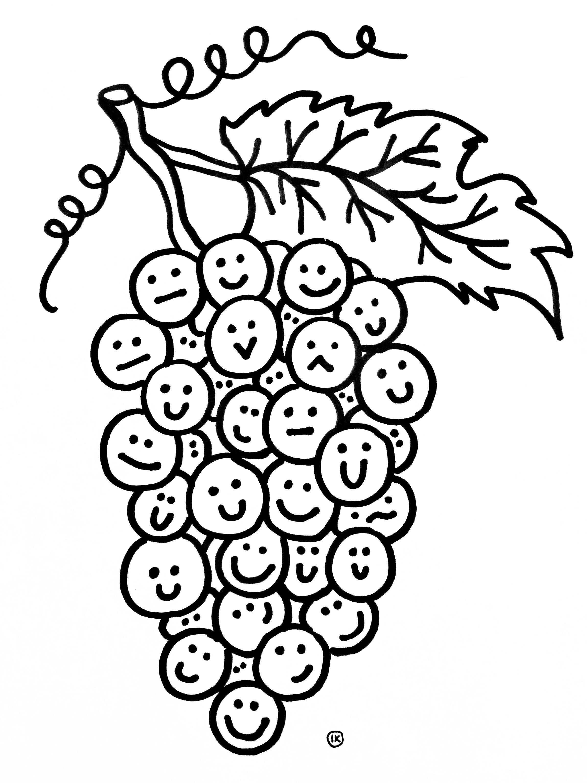 Kleurplaten Fruit Kleurplaten Fruit Creatief