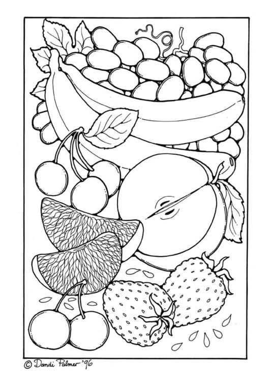 Fruit Free Sample Join Fb Grown Up Coloring Group I Like To